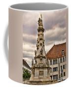 Statue At St Matthias Church Coffee Mug