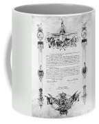 Statue Of Liberty: Deed Coffee Mug