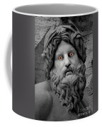 Statue With Eyes Coffee Mug