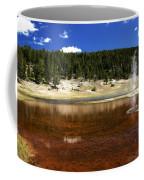 Steam At Firehole Lake Coffee Mug