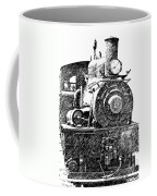steam Engine pencil sketch Coffee Mug
