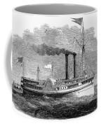 Steamboat, 1850 Coffee Mug
