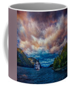 Steamboat On The Hudson River Coffee Mug
