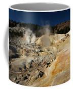 Steaming Organge Crust Coffee Mug