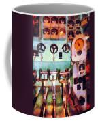 Steampunk - Electrical Control Room Coffee Mug