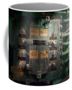 Steampunk - Naval - Electric - Lighting Control Panel Coffee Mug