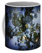 Steampunk Gears - Time Destroyed Coffee Mug