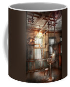 Steampunk - Machinist - The Grinding Station Coffee Mug by Mike Savad