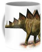 Stegosaurus Armatus, A Prehistoric Era Coffee Mug