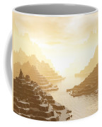 Misted Mountain River Passage Coffee Mug