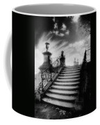 Steps At Chateau Vieux Coffee Mug by Simon Marsden