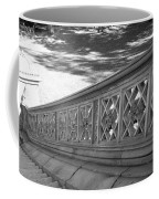 Steps Of Central Park In Black And White Coffee Mug