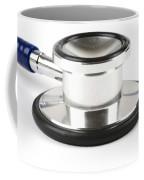 Stethoscopes Diaphragm Coffee Mug by Photo Researchers, Inc.