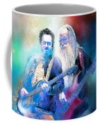 Steve Lukather And Leland Sklar From Toto 02 Coffee Mug