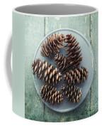 Stil Life With  Seven Pine Cones Coffee Mug