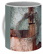 Still Decorated With A Wreath Coffee Mug by Priska Wettstein