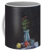 Still Life Flowers And Fruit Coffee Mug