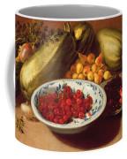 Still Life Of Cherries - Marrows And Pears Coffee Mug