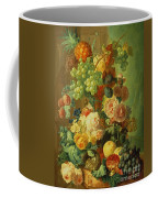Still Life With Fruit And Flowers Coffee Mug