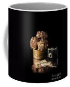 Still Life With Hydrangea And Camera Coffee Mug