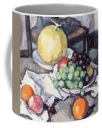 Still Life With Melons And Grapes Coffee Mug by Samuel John Peploe