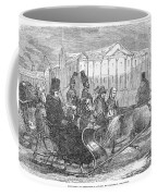 Stockholm: Sleighing, 1850 Coffee Mug
