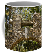 Stone Archway At The Entrance Coffee Mug by Todd Gipstein