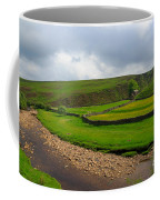 Stone Barn In A Fold Of The Landscape Coffee Mug