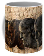 Stone Faces Coffee Mug