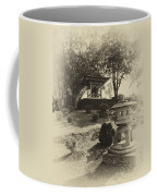 Stone Lantern And Temple Bell Coffee Mug