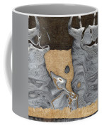 Stone Men 28 - Celebration  Coffee Mug by Variance Collections