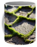 Stone Road With Green Moss Coffee Mug
