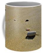 Stones In The Sand Coffee Mug