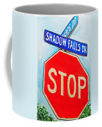Stop Sign Sketchbook Project Down My Street Coffee Mug