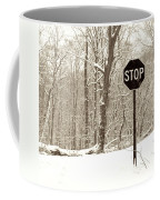 Stop Snowing Coffee Mug