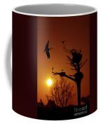 Storks Coffee Mug by Carlos Caetano