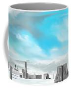 Storm Approachs Strange City Coffee Mug