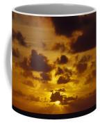 Storm Clouds Over A Vast Tropical Ocean Coffee Mug by Jason Edwards