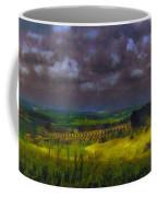 Storm Clouds Over Meadow Coffee Mug