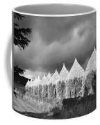 Storm Light On Grain Stacks Not Far Coffee Mug