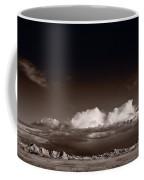 Storm Over Badlands Coffee Mug