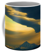 Storm Over Shasta Coffee Mug