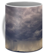Storm Over The Mesa Coffee Mug by Ron Cline