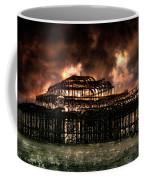 Storm Over The West Pier Coffee Mug