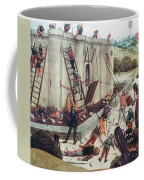 Storming Of Castle Coffee Mug by Granger