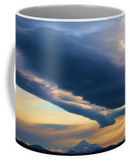 Storms Over Shasta Coffee Mug