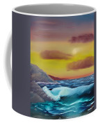 Stormy Beach Coffee Mug