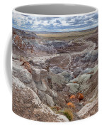 Stormy Morning At Petrified Forest  Coffee Mug