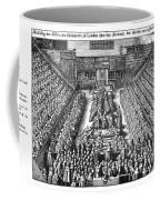 Strafford Trial, 1641 Coffee Mug