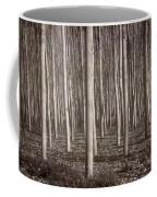 Straight Trees Coffee Mug